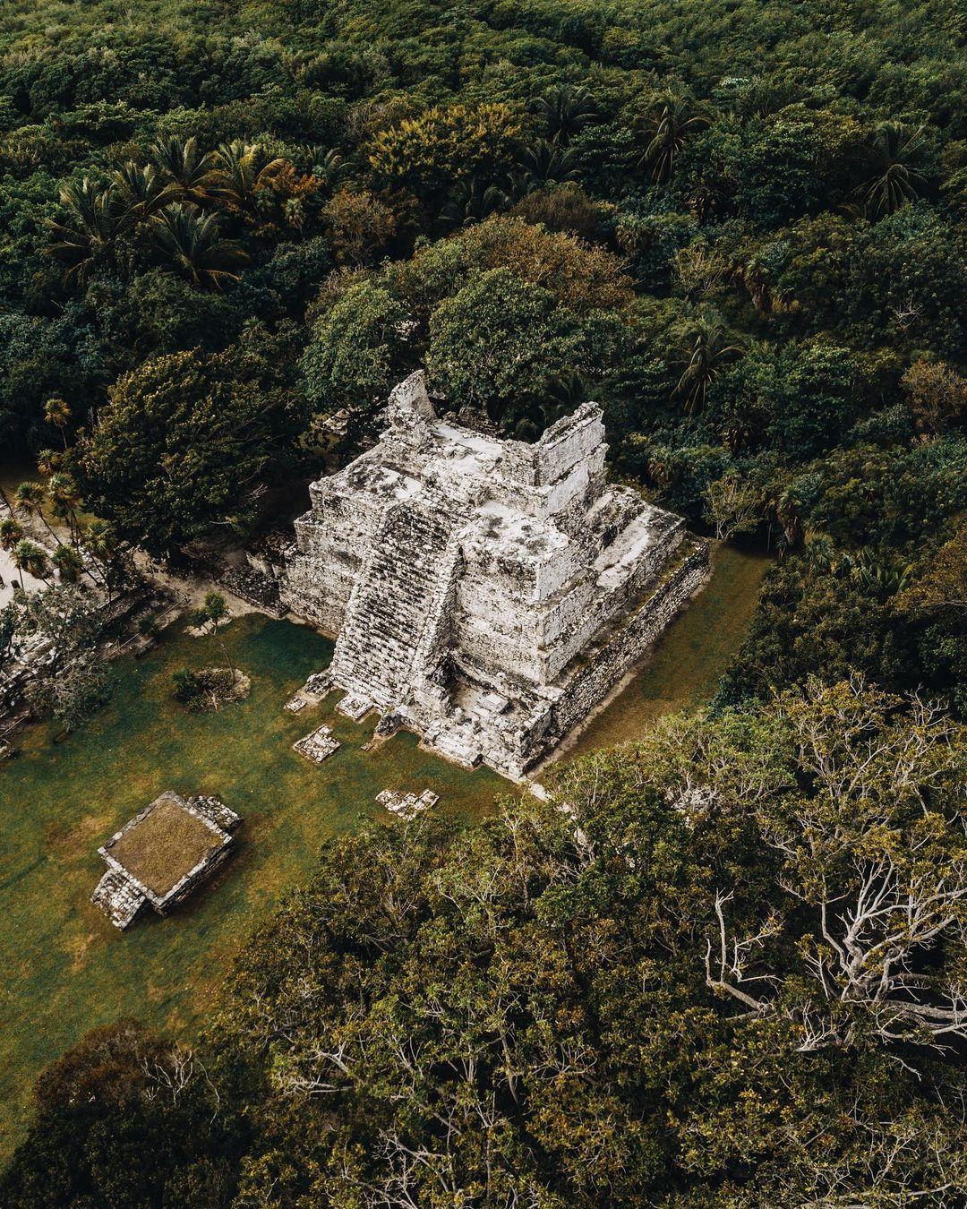 El Meco, las ruinas mayas escondidas de Cancún