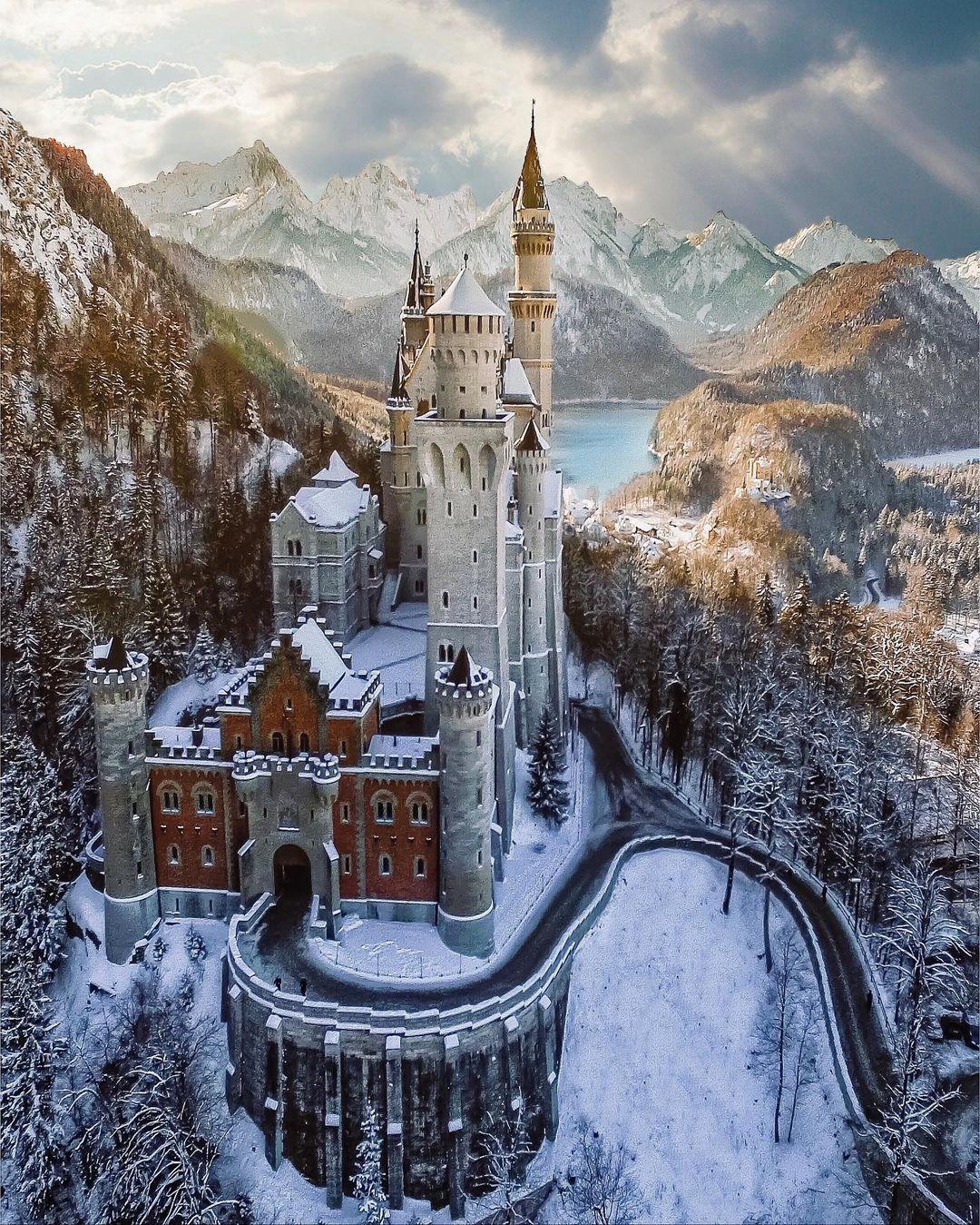 Neuschwastein, el impresionante castillo bávaro en el que Disney se basó